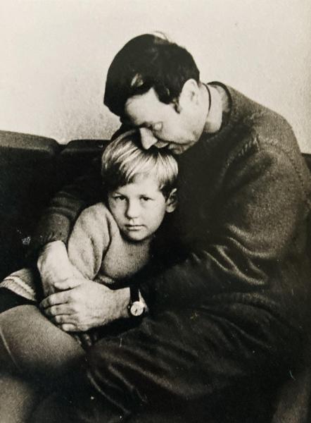 Julius Juzeliūnas ir sūnus Tomas