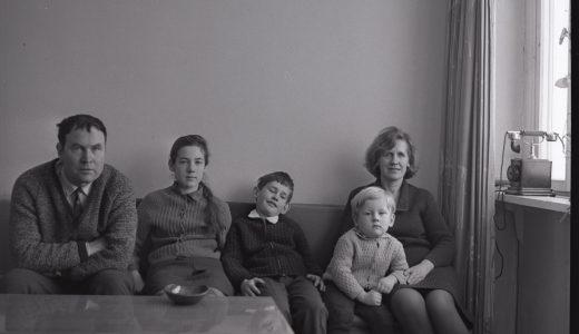 Juzeliūnų šeima. ~1970 m. fotografija